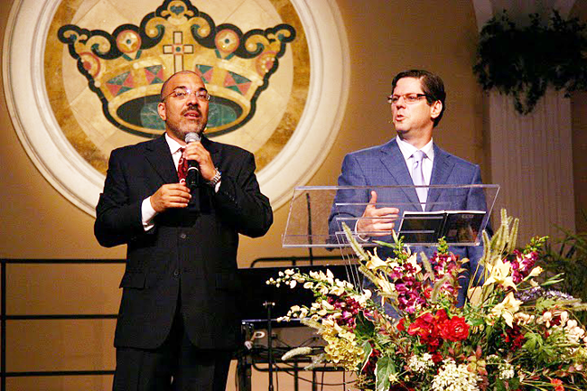 Pastor Burgos and Lewis